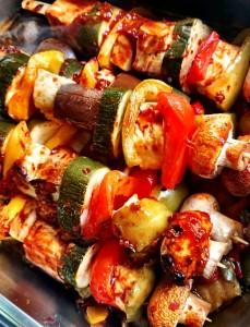 Surrey - veggie skewers2