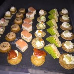 Selection of Our Homemade Canapes
