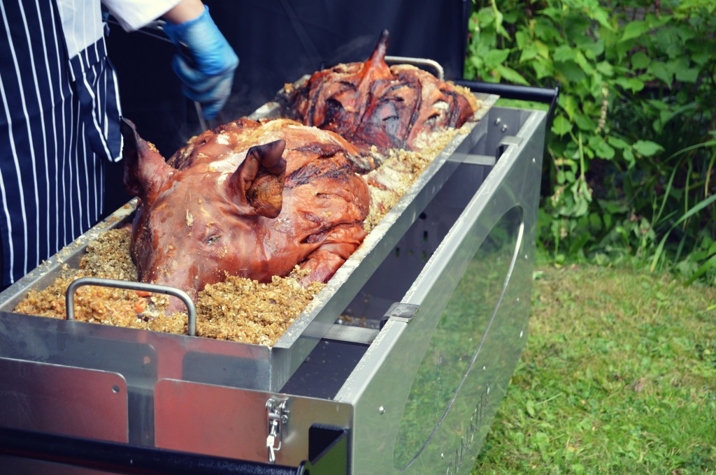 Hog Roast with stuffing