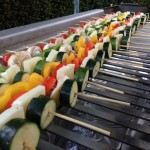 Vegeratian BBQ Skewers